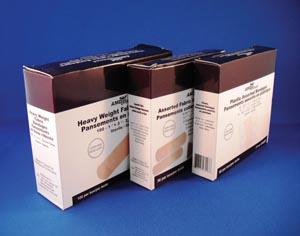 "AMD-Medicom AP0334 Plastic Adhesive Bandage 3/4 x 3"" 100/bx"