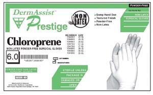IHC 134600 Gloves Size 6 Surgical Polychloroprene Sterile PF Bisque Finish 25 pr/bx 4 bx/cs