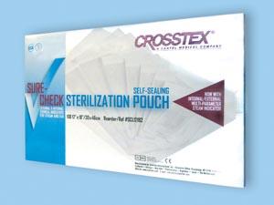 "Crosstex SCL12152 Pouch 12 x 15"" 100/bx 5 bx/cs"
