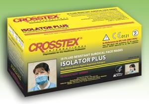 Crosstex GPRN95 Respirator Blue/ White 28/bx 6 bx/cs