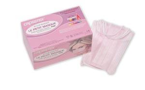 Crosstex GCAPTPK Le Petit Masque Pink 50/bx 10 bx/cs