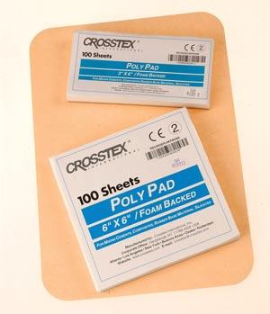 """Crosstex KPAD36 Pad 3 x 6"""" 6/pkg"""