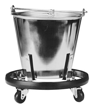 GRAHAM FIELD GRAFCO® STAINLESS STEEL KICK BUCKET/STAND SET