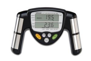 Body Fat Analyzer & Instructions (060110)