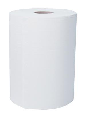 Slimroll Hard Roll Towels, White, 580 ft/rl, 6 rl/cs
