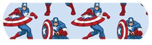 "Dukal 1087837 Avengers Captain America & Ironman  Adhesive Bandage  3/4 x 3"" 100/bx 12 bx/cs"