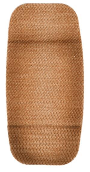 "Dukal 1565033 Flexible Fabric Adhesive Bandage 2 x 4"" X-Large 10/bx 12 bx/cs"