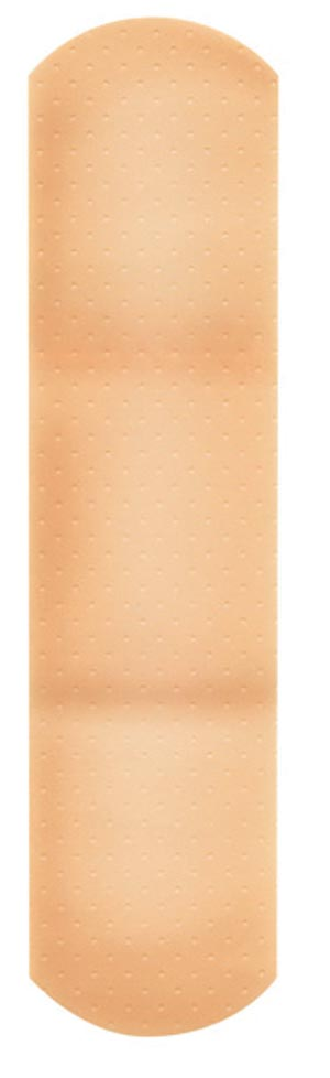 "Dukal 1047033 Plastic Adhesive Bandage  3/4 x 3"" Assorted 50/bx 24 bx/cs"