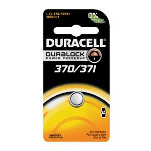 Battery, Silver Oxide, Size 370/371, 1.5V, 6/cs (UPC# 66134)