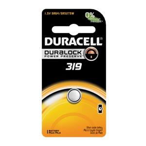 Battery, Silver Oxide, Size 319, 1.5V, 6/cs (UPC# 66131)