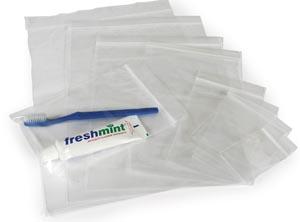 """Reclosable Clear Bag, 1-1/2"""" x 2"""", 100/bg, 10 bg/cs"""