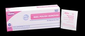 Dukal 862 Nail Polish Remover Pads 100/bx 10 bx/cs