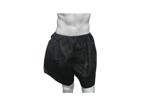 Dukal 900530 Boxers Black Small/ Medium 1/pk 50 pk/cs