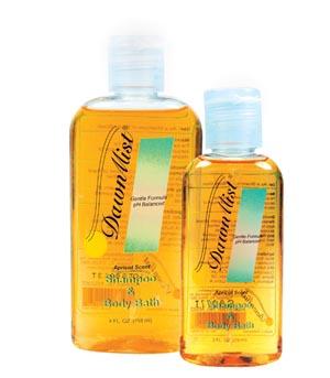 Dukal MS16 Shampoo & Body Bath 16 oz Bottle with Dispensing Cap 12/cs