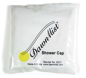 Dukal SC01 Shower Cap Latex Free (LF) 1/bg 200 bg/bx 10 bx/cs