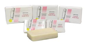 Dukal SP30 Soap Facial Bar #3 Individually Wrapped Vegetable Based 1/pk 100/cs