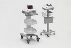 Mortara XCR000001A Deluxe Cart Accommodates Burdick 8500 8300 & Atria 3000 3100 & 6100