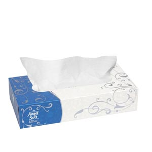 Georgia-Pacific 48560 Flat Facial Tissue 125/bx 30 bx/cs