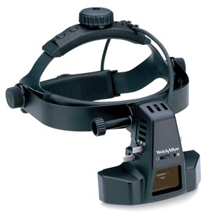 OPHTHALMOSCOPE W/YEL/DIFFFILTER OPTI PORTION/HEADBAND
