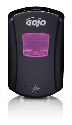 GOJO 1386-04 Dispenser 700mL Black/ Black 4/cs