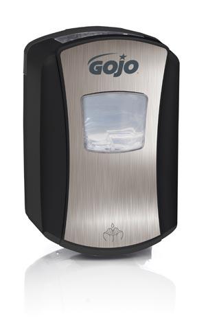 GOJO 1388-04 Dispenser 700mL Chrome/ Black 4/cs