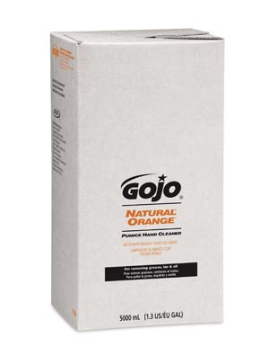 GOJO 7556-02 Natural Orange Pumice Hand Cleaner 2/cs
