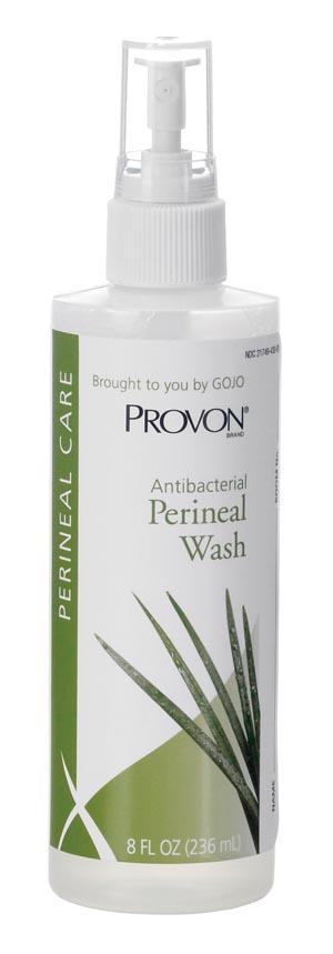 GOJO 4532-48 Perineal Wash 8 oz Spray Bottle 48/cs
