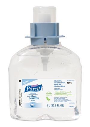 GOJO 5199-03 FMX Hand Sanitizer 1000mL 3/cs