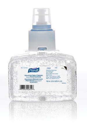GOJO 1303-03 LTX Instant Hand Sanitizer 700mL 3/cs