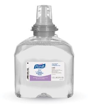 GOJO 5384-02 Instant Hand Sanitizing Foam TFX 1200mL Refill 2/cs