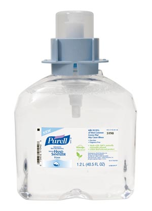 GOJO 5198-03 FMX-12 Hand Sanitizer 1200mL Instant Refill 3/cs