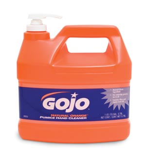 GOJO 0955-04 Hand Cleaner One Gallon with Pump Dispenser 4/cs