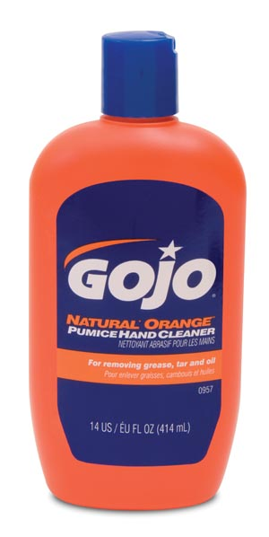 GOJO 0957-12 Hand Cleaner 14 oz Bottle 12/cs
