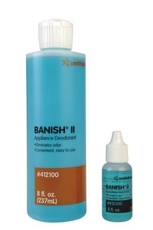 DEODORANT BANISH II LIQUID1 1/4 OZ BTL 12/CS