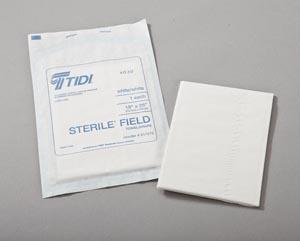 "Drape Sheet, 18"" x 26"",  White, TPT, 50/bx, 6 bx/cs"