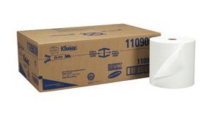 Kimblery-Clark 11090 Kleenex Hard Roll Towels 8 x 600' White 6 rolls/cs