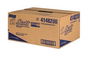 "Kimblery-Clark 41482 Scott Kitchen Roll Towels Perforated White 11 x 8.78"" 128 sheet/rl 20 rl/cs"