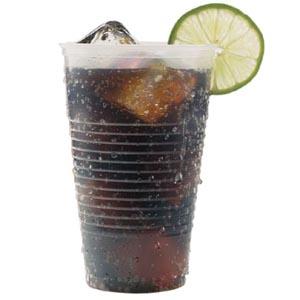Bunzl 13309103 Plastic Drinking Cup 5 oz 100/slv 25 slv/cs