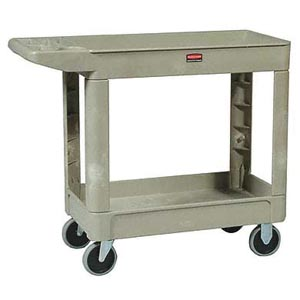 Bunzl 17704500 4500-88 Utility Cart Beige