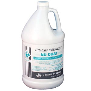 Bunzl 75004023 Nu-Quat Neutral Disinfectant Cleaner Gal 4/cs
