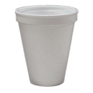 Bunzl 19409008 Styrofoam Cup 8 oz 50/slv 20 slv/cs