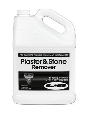 Plaster & Stone Remover, Gallon Bottle, 4/cs
