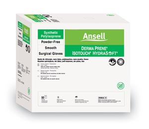 Ansell 6016001 Exam Gloves Sterile Latex Powder Free Small 100/bx 4 bx/cs