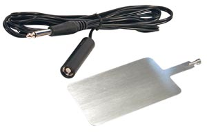 Bovie A1204 Reusable Metal Plate & Cord For A950