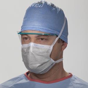 High Filtration Surgical Mask, Silver, 35/pkg, 6 pkg/cs