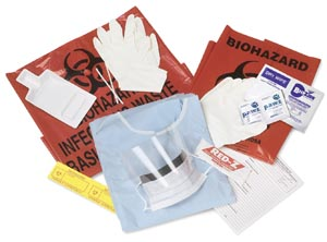 Covidien BB6016K Blood & Body Fluid Spill Kits, 6/cs
