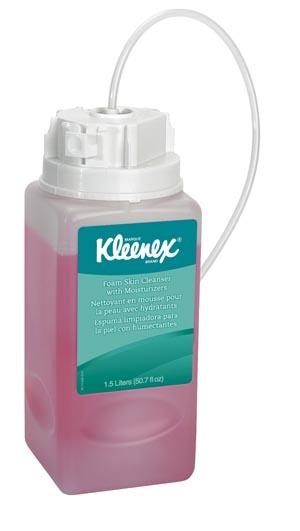 Skin Cleanser with Moisturizer, Foam, Antibacterial, 1500mL, 2/cs