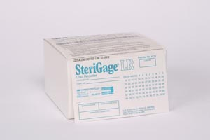 Integrator Load Record Card For Steam, Can Be Used For Vacuum-Assisted, Gravity & Flash Sterilizers, 100/cs