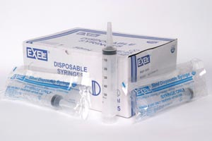 Exel 26304 Catheter Tip Syringe 50-60cc With Cap Centric 25/bx 6 bx/cs