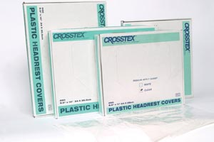 "Crosstex L0CP Cover Regular 9 1/2 x 11"" Clear 250/bx 4 bx/cs"